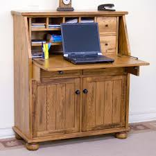 Sunny Design Furniture Drop Leaf Laptop Desk Armoire By Sunny Designs Wolf And Gardiner