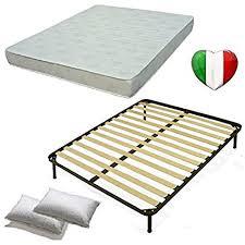 rete materasso matrimoniale set 160x190 rete materasso e cuscini kit letto completo letto
