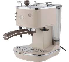 Delonghi Vintage Cream Toaster Buy De U0027longhi Ecov310bg Vintage Espresso Coffee Machine Cream At