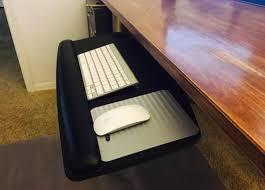 keyboard mount for desk ultimate guide to the best under desk keyboard trays in 2018