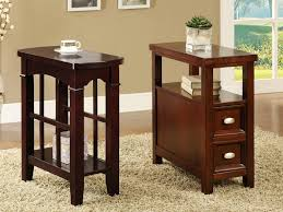 black side table with shelf bench style coffee table small narrow side tables end short for