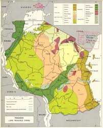 Map Of Tanzania Africa by The Soil Maps Of Africa Display Maps