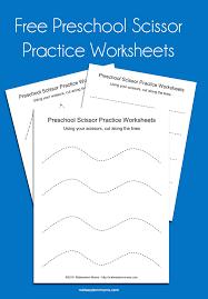 preschool scissor practice worksheets scissor practice scissor