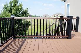 Cost Of New Banister 5 Types Of Decorative Deck Railings Salter Spiral Stair