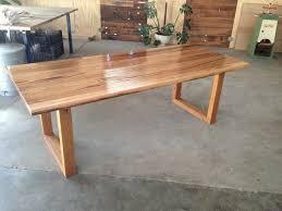 Handmade Custom Recycled Tasmanian Oak Dining Table EBay - Ebay kitchen table