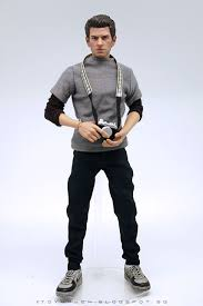 Peter Parka Toyhaven Kitbash 1 6th Scale Andrew Garfield As Peter Parker