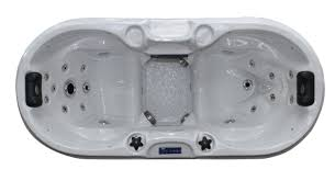 spas bliss 2 person 22 jet and play spa with led