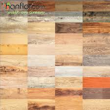 hanflor semi matt pvc plank 2mm cheap price sound absorption 6