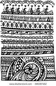 vector ancient patterns mayan gods ornaments stock vector 98284436