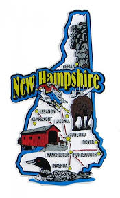 New Hampshire travel cards images 64 best usa souvenir magnets images travel jpg