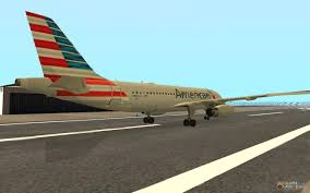 american airlines airbus a319 for gta san andreas