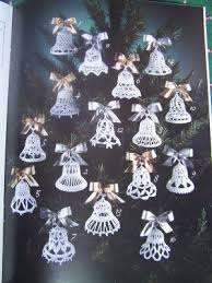 usa free s 16 crocheted bells patterns ornaments shower
