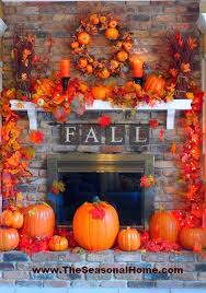 fall mantel decorating ideas exciting fall mantel decor ideas