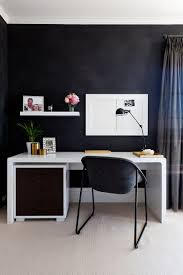 Designing A Home Office by 30 Black And White Home Offices That Leave You Spellbound