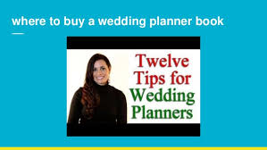 where to buy a wedding planner wedding planners