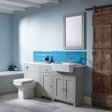 Tongue And Groove Bathroom Storage Unit by Tavistock Lansdown Storage Unit Pebble Grey 400