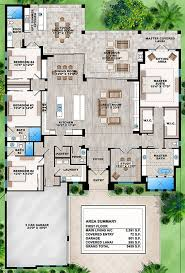 4 Bedroom Floor Plans For A House House Plan 207 00031 Contemporary Plan 3 591 Square Feet 4