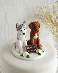 cake topper with dog dog wedding cake toppers cat the uk peukle site