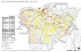 Dc Zoning Map Mapping New Constructions In Beirut 2000 2013
