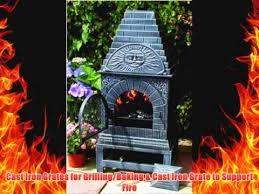 Blue Rooster Chiminea Review The Blue Rooster Cast Iron Casita Chiminea Youtube