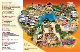 Universal Orlando Map by Universal Studios Map 2014