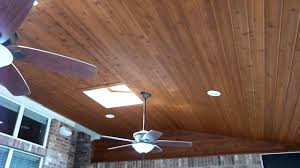 austin cedar screen porch ceiling youtube