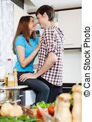 sexe dans la cuisine type avoir sexe feuille lit avoir blanc photo