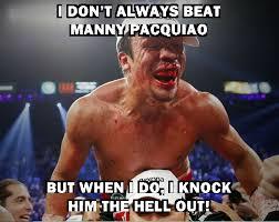 Pacquiao Knockout Memes - pacquiao marquez meme juan manuel marquez is the most interesting