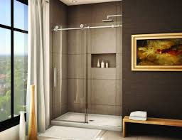 bathroom savvy shower door ideas installed to create more effects