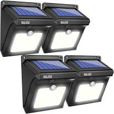 wireless security lights outdoor baxia technology solar lights outdoor wireless led solar motion