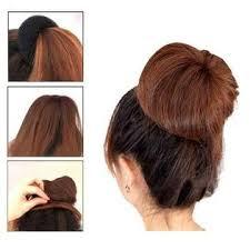 cool hair donut battmate bundle 3 pieces blonde hair donut ring style bun maker