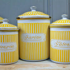 antique canisters kitchen vintage enamel kitchen canister from chanteduc on etsy