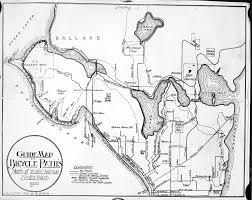 Seattle Street Map by Seattle Now U0026 Then Fort Lawton Barracks Dorpatsherrardlomont