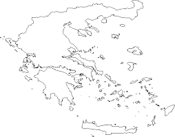 blank map of ancient greece ancient