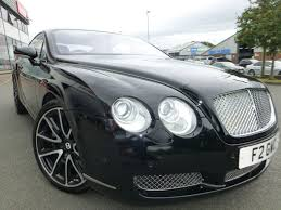 black bentley used black bentley continental gt for sale cheshire