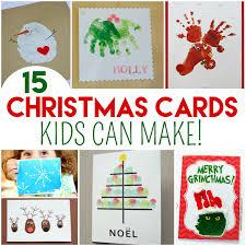 make christmas cards top 15 christmas cards kids can make