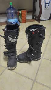 dirt bike riding boots for sale dirt bike boots size 7 for sale in santa fe tx 5miles buy and sell