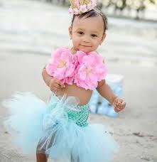 Mermaid Halloween Costumes Baby Mermaid Tutu Mermaid Birthday Mermaid Birthday
