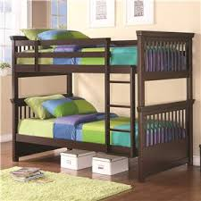 Bunk Beds Las Vegas Coaster Bunks Full Over Full Contemporary Bunk Bed Furniture