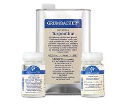grumbacher pre tested oil mediums odorless mineral spirits and