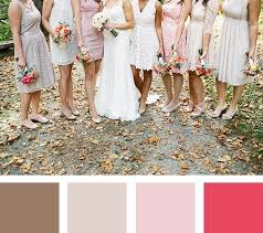 fall wedding color palette 5 fall wedding color palettes mywedding