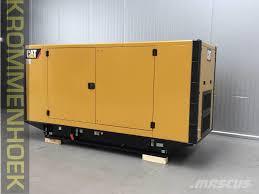 used caterpillar de220e0 220 kva new diesel generators year