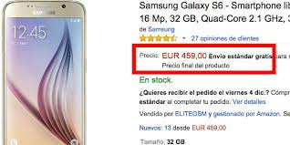 black friday amazon samsung galaxy samsung galaxy s6 y s6 edge en el black friday