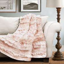 Blush Pink Decor by Amazon Com Lush Decor 16t000207 Belle Throw 60
