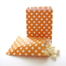 bulk halloween treat bags amazon com orange goodie bags halloween candy treat bags mini