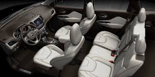 jeep interior interior features of the 2017 jeep cherokee jeep dealer
