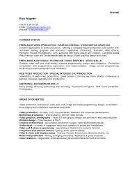 Resume Examples For Graphic Designers by Download Video Resume Sample Haadyaooverbayresort Com