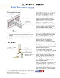 Exterior Wall Thickness by Info 408 Critical Seal Spray Foam At Rim Joist Building