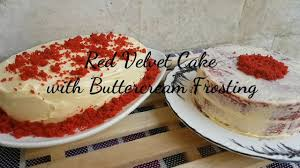 no bake red velvet cake with buttercream frosting no melt
