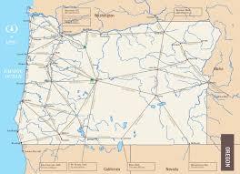 mileage map phinney oregon mileage map